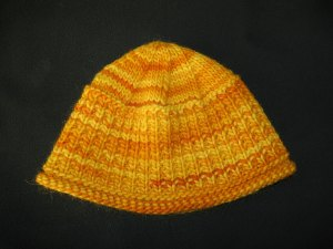 Canadian-Winter hat (yellow)