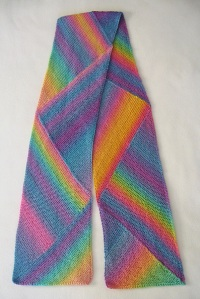 Pastel Multidirectional scarf
