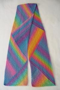 Pastel Multidirectional scarf