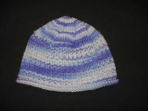 Canadian-Winter Hat (Frosted Periwinkle)