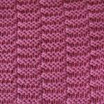 Oblong Texture Stitch (yoke)
