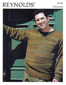 Wedge Pullover pattern photo