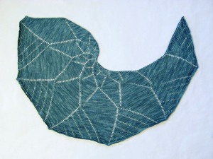 Burning Branch Shawl