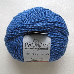 Cascade 220 Superwash Quatro (blue)