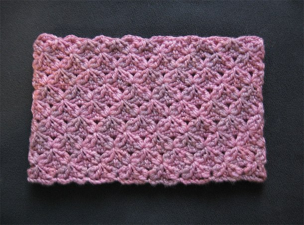 Pink Marble Cowl