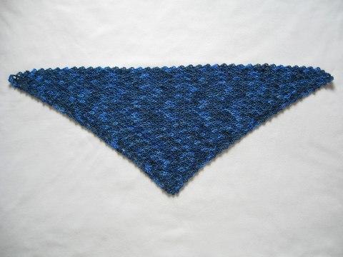 Unblocked shawlette.