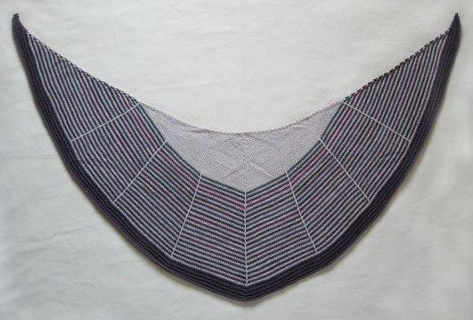Daybreak shawlette